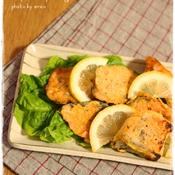 甘塩鮭のハーブチーズピカタ(2人分)