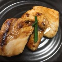 メカジキの照り焼き ☆ 粗切り生姜風味