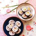 恵方巻きにもピッタリ * 丸ごとちくわの太巻き寿司2種