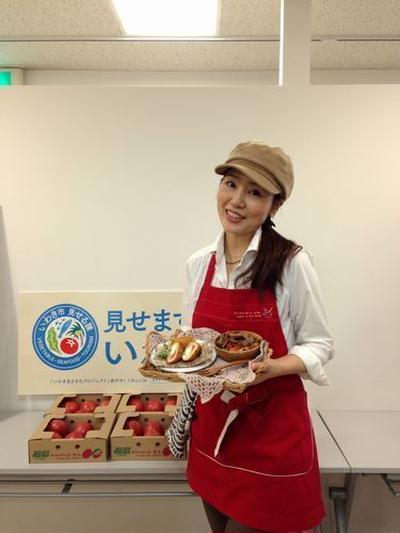 かな姐さんと一緒にいわき市のトマトの美味しさを実感しよう♪イベントに参加しました!