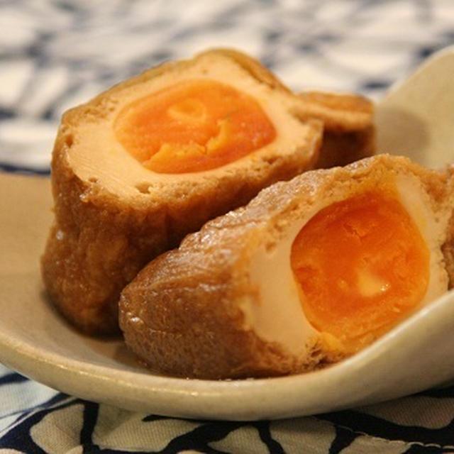 卵の袋煮。