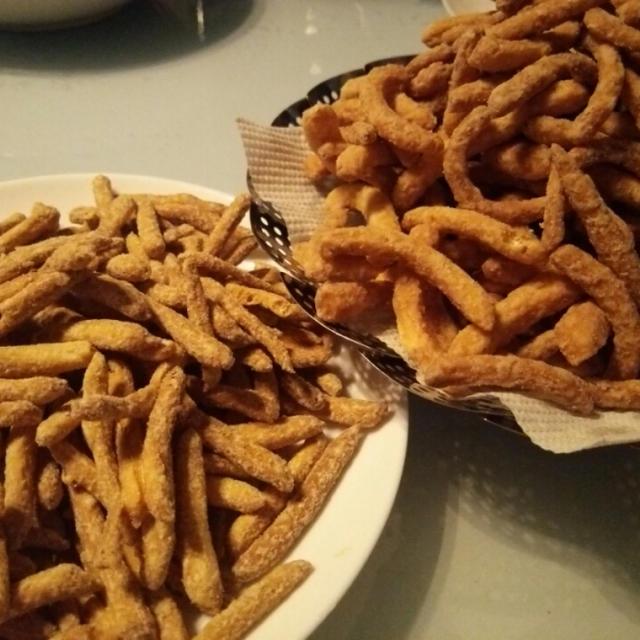 かりんとう・小麦粉大量消費大作戦❗④