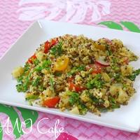 Rainbow Quinoaのカレーサラダ
