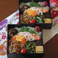 月曜鮭弁 ✿ 万能カレー(๑¯﹃¯๑)♪