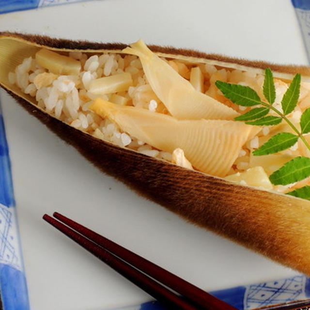 筍づくしの食卓で春を堪能しています☆レシピは甘海老と柚子胡椒マヨ和え♪