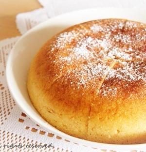 ホットケーキミックスでりんごヨーグルトケーキ