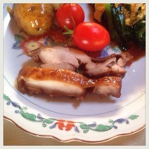 ローリエ香る鶏の照り煮