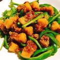 オリジナルタイ中華 ✦カリカリ豚の青椒肉絲風✦