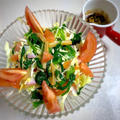 栃木県産にらとトマトで!❮メンマ入りにらとトマトのピリ辛うまうまサラダ❯