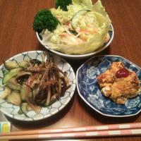 レモネードの素♡さんま生姜煮♪春雨サラダ☆