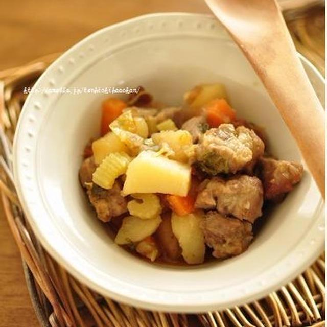 豚肉と野菜のダッチオーブン焼きと、末娘の熱・・・