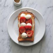 strawberry mozzarella