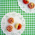 レモン香る♪ホワイトチョコのプチドーナツ by みぃさん