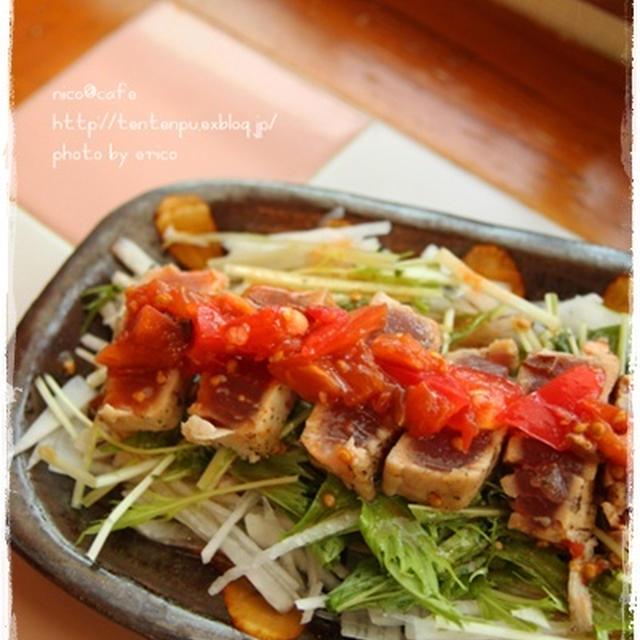 ピリ辛トマトダレ活用~マグロステーキ と、受賞しました♪