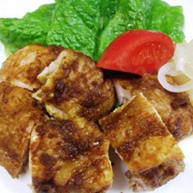 鶏のカレー醤油2