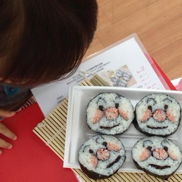 アンパンマンの飾り巻き寿司!桜えびこどもプログラム