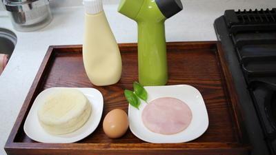 とろとろエッグマフィンのレシピ・作り方 #料理動画