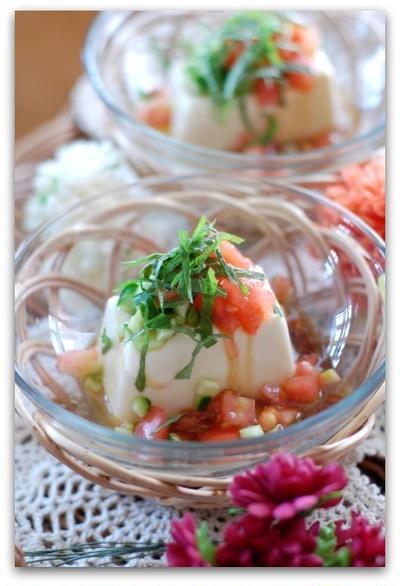 【夏レシピ】冷奴アレンジメニュー!「さっぱりトマトの冷奴」と「ぴり辛!青唐辛子醤油かけ」