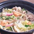 美味しすぎる!簡単スープで「ちゃんぽん鍋」
