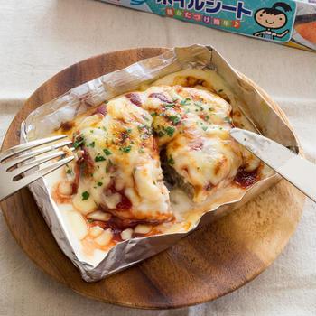 【レシピ】とろ〜りアツアツ!ハンバーググラタン