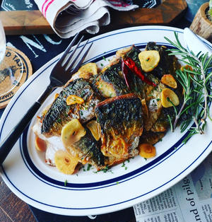 進んで食べたい魚レシピ色々❤️と、めちゃめちゃおすすめです❤️アーリオオーリオ塩鯖チーノ♪