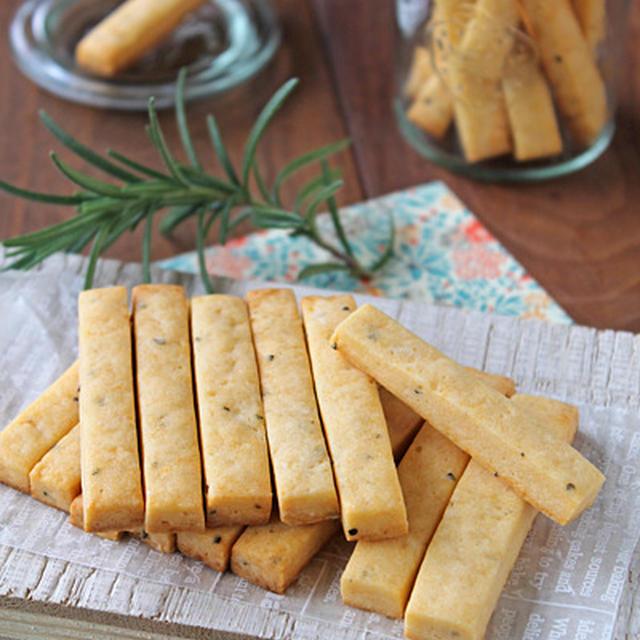 バター不使用ポリポリチーズスティッククッキー☆クッキーラッピング