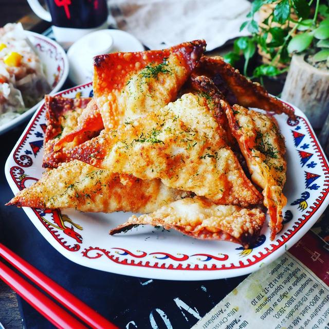 ツナ缶レシピ色々~❤️と、残った焼売の皮でさっくさくツナコーンマヨ包み焼き❤️