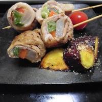 豚肉の千葉野菜巻き