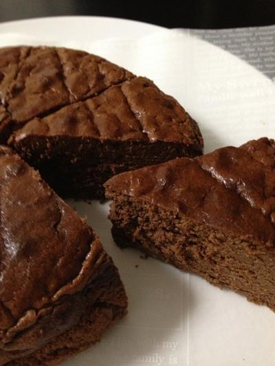 クルミ入りガトーショコラの作り方とお味の感想やら。