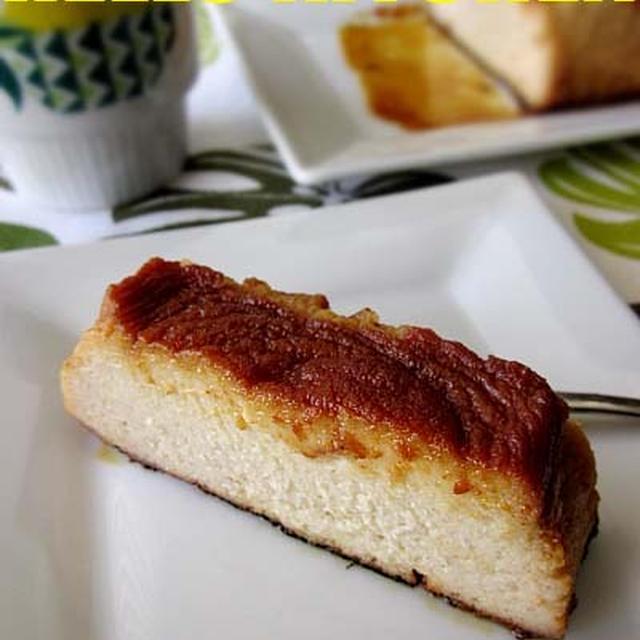 バナナ&クリームチーズの焼きプリン