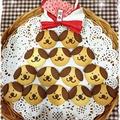スイーツ作りも初めてます♪ ~戌年クッキー♥抹茶お豆腐ケーキ~ by あっ君ママ♪さん