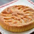 フライパンで ♪ りんごのマーブルケーキ