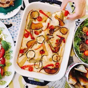 レモン香る夏野菜フォカッチャ♪