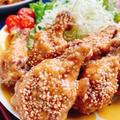 手羽元のニンニク味噌煮(動画レシピ)/Chicken drumettes with Garlic Miso.