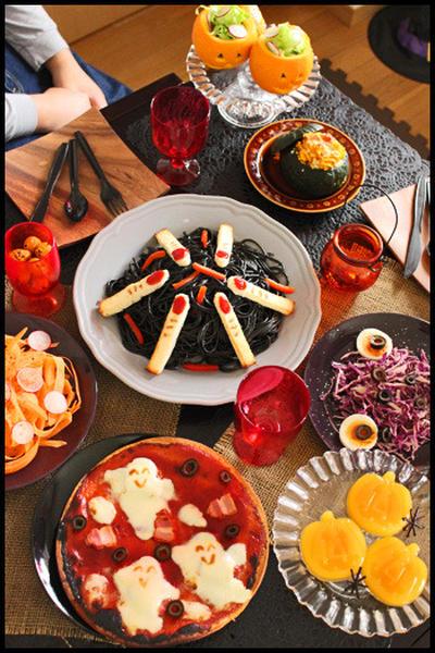 どれも簡単!ハロウィンパーティーの料理とデザート全7品