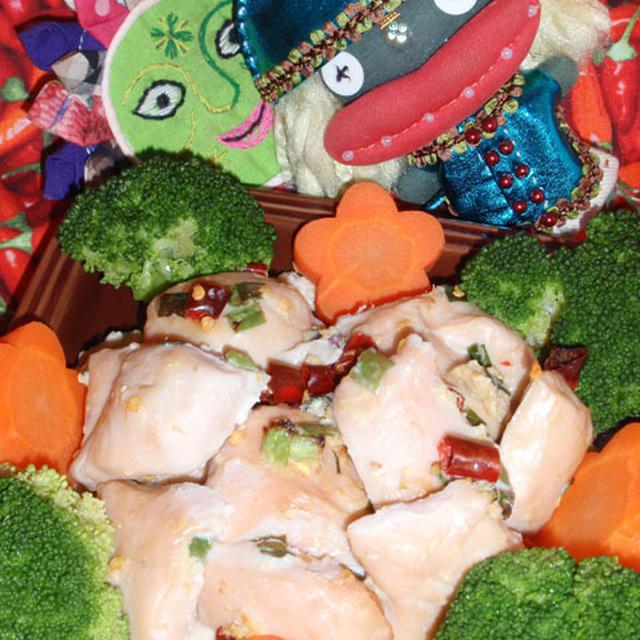 グリルチキンのカシューナッツソース添え&南瓜のハニーマスタードサラダ(お家カフェ)