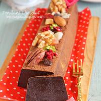 バレンタインに☆温でも冷でもおいしいなめらかチョコケーキ