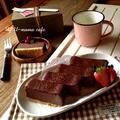 簡単♪チョコレートNYチーズケーキ♡バレンタインに。