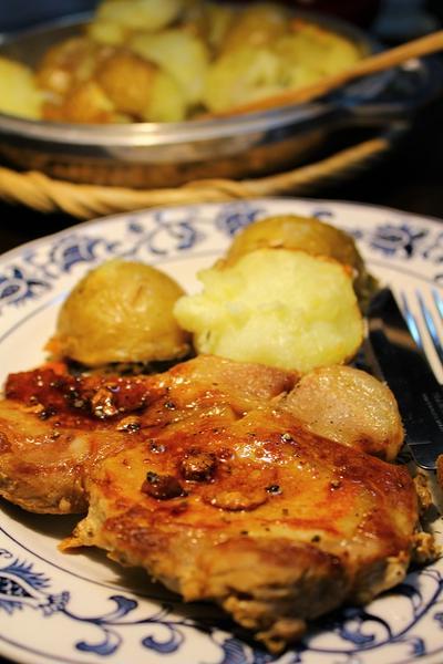 トンテキ(醤油味)