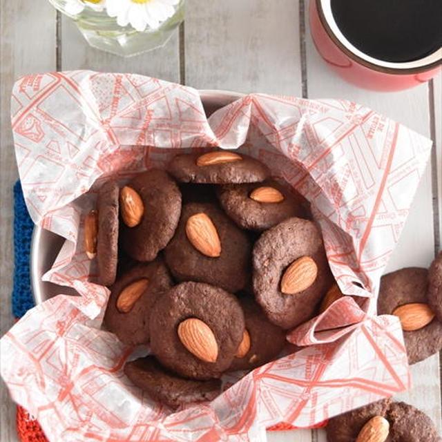 ヘルシー♪おからとアーモンドのココアクッキー