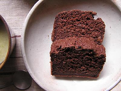 米粉とおからでココアケーキ
