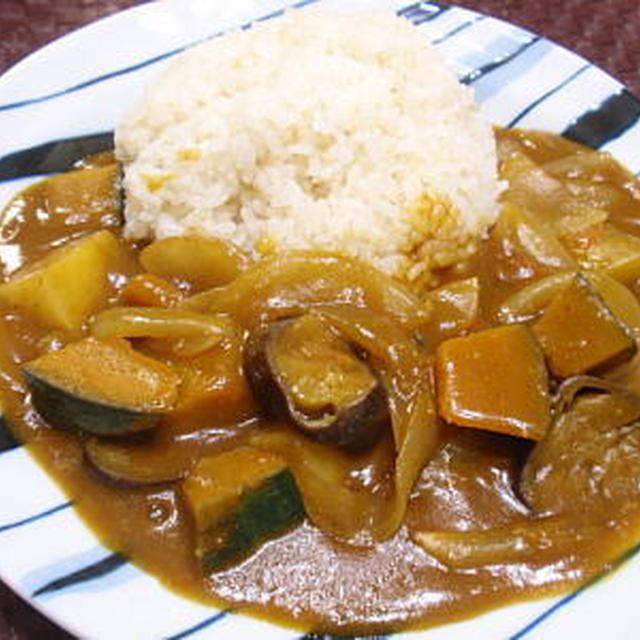 夏野菜のヘルシーカレー(レシピ付)