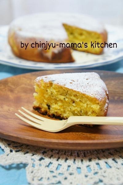 豆腐でしっとり持続!フライパンでオレンジ紅茶のふかふかケーキ