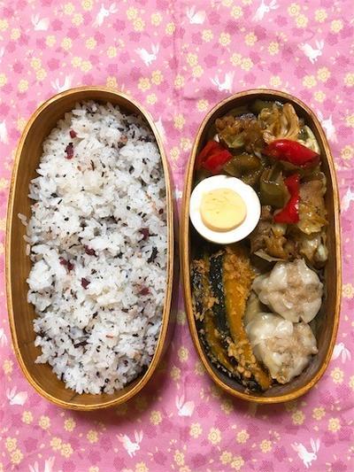 20171031回鍋肉弁当【プラスさつまいもおやつ②】&最近のハマりもの。