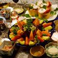 ■クリスマスのおもてなし【③大盛サラダ/マグロの中落ち/〆は握り寿司/プリン/全貌編】です♪