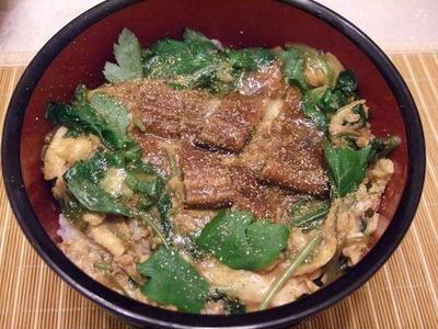 美味しいうなたま丼は、二人で1尾の鰻で作れます♪