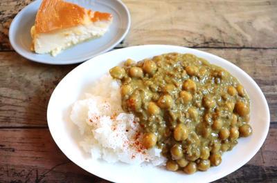 【簡単!朝カレー】カレールウ無し!調理時間10分で完成!超ラク♪ひき肉とひよこ豆のカレー
