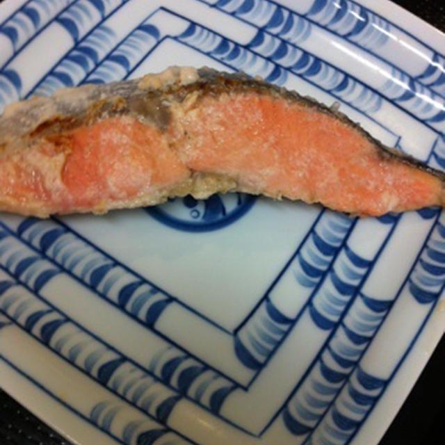 鮭粕漬け焼き