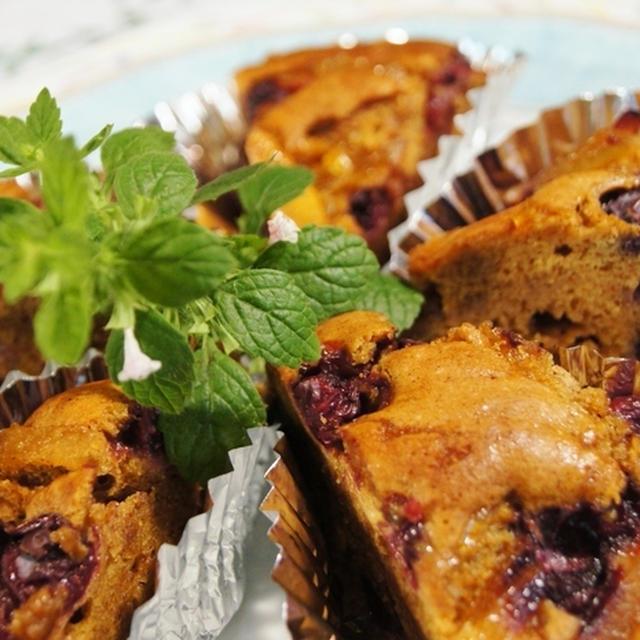 【ブルーベリーケーキ/夏ミカンとグレープフルーツのママレード】摘み立てで即!作りました♪
