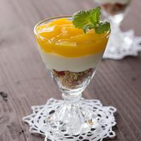 オレンジ・ジュレのグラス・ティラミス♪